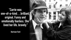 Reloaded twaddle – RT @MTVNews: Harrison Ford, George Lucas, and other celebs remember Carrie Fishe...