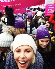 Reloaded twaddle – RT @CharlizeAfrica: Representing here at Sundance !#womensmarch #marchonmain htt...