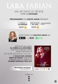 RT @LFabianOfficial: 'Ma vie dans la tienne', sortie le 6 Novembre. Pré-commandez l'album :  https:/...