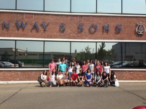 RT @SteinwayAndSons: Great to see enthusiastic #ManhattanSchoolofMusic students at our piano factory...