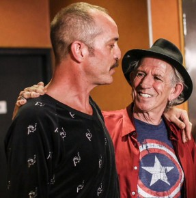 RT @theheavyjamz: So grateful to Keith Richards for brightening a tough year by sharing laughs &...