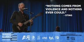 RT @AETV: .@OfficialSting calls for peace. #ShiningALight @ShiningLightNow https://t.co/tat80QU7B1
