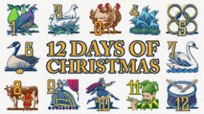 RT @RC1023FM: All the gifts in the Twelve Days of Christmas would equal 364 gifts!  #RCFunFacts #con...
