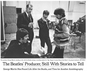 RT NYT Archives @NYTArchives: Remembering George Martin: A look back at his autobiographical work. h...