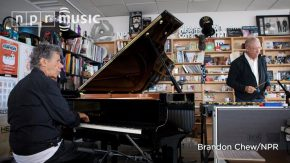 Reloaded twaddle – RT @nprmusic: One baby grand piano. One vibraphone. One desk. Two jazz legends. ...