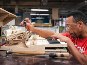 Reloaded twaddle – RT @Slate: The people who craft Steinway pianos—photos: https://t.co/9g4B8YD07V ...