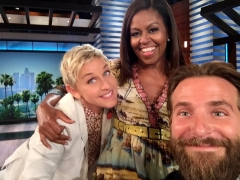 Reloaded twaddle – RT @FLOTUS: Surprise! Guess who stopped by @TheEllenShow today.  (Hint: Really ...