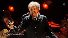 Reloaded twaddle – RT @nytimes: Bob Dylan says he'll skip the Nobel ceremony. (He's busy.) https://...