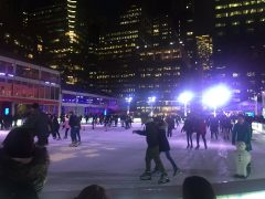 Reloaded twaddle – RT @RomaPete: Nice way to spend a Monday afternoon, skating @bryantparknyc @lynt...