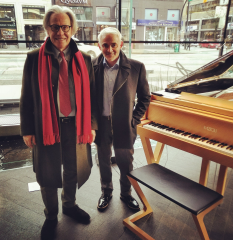 Reloaded twaddle – RT @FazioliCanada: King of pianos Paolo Fazioli owner and founder of Fazioli Pia...