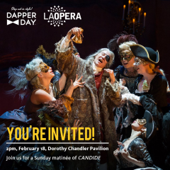 Reloaded twaddle – RT @LAOpera: For today's matinee we'll be welcoming in Dapper Day and we cannot ...
