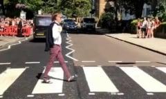 Reloaded twaddle – RT @lesoir: #VIDEOS Cinquante ans plus tard, Paul McCartney traverse Abbey Road ...