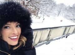 Reloaded twaddle – RT @_EllenBryan: A 1 hour break from the studio, so I ran outside! #WinterWonder...