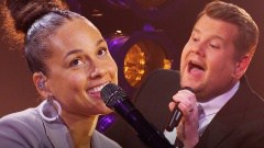 James Corden @JKCorden Follow A Grammys host is born. It was an absolute joy to do this with @aliciakeys