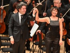 LA Phil LA Phil @LAPhil Follow Gustavo, Yuja and LA Phil - it was a London takeover @BarbicanCentre . #laphiltour