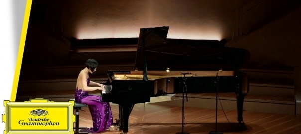 @SteinwayAndSons Follow Virtuoso Steinway Artist @YujaWang performs Sergei Prokofiev's Piano Sonata No. 8 in B-flat Major, Op. 84, 3: Vivace @BerlinPhil on a Model D #Steinway. Video courtesy of @DGclassics: fal.cn/Azdt